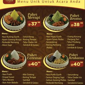Harga Tumpeng Mini di Jakarta
