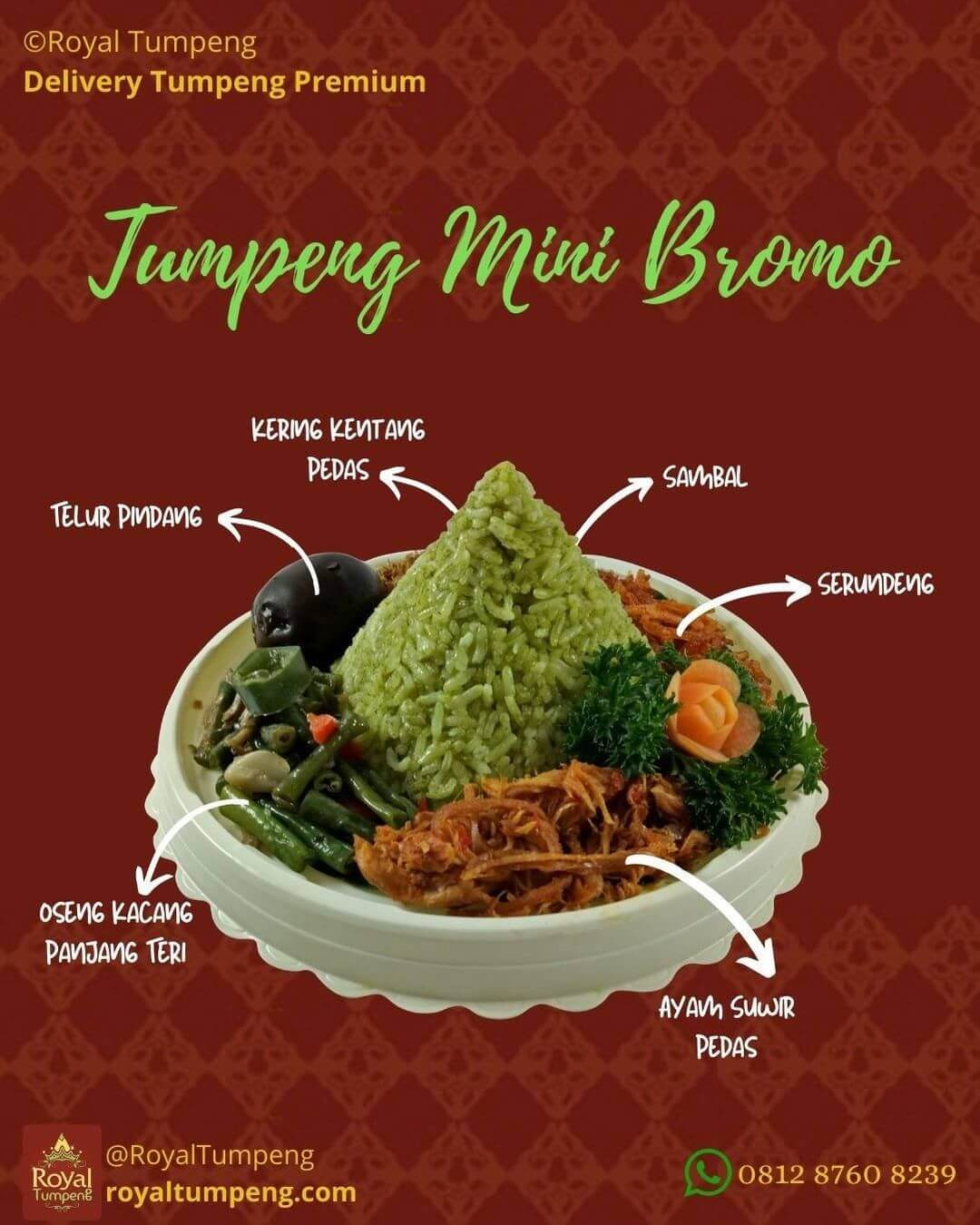 Rekomendasi Tumpeng Mini di Jakarta